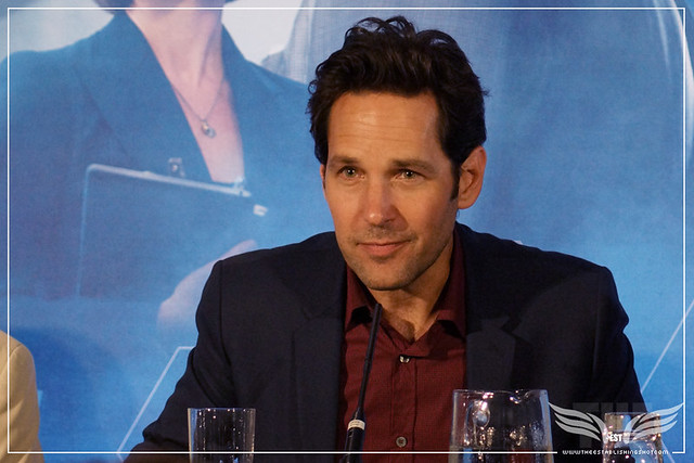 The Establishing Shot: PAUL RUDD TALKS CAPTAIN AMERICA: CIVIL WAR - ANT-MAN EUROPEAN PRESS CONFERENCE - CORINTHIA HOTEL LONDON