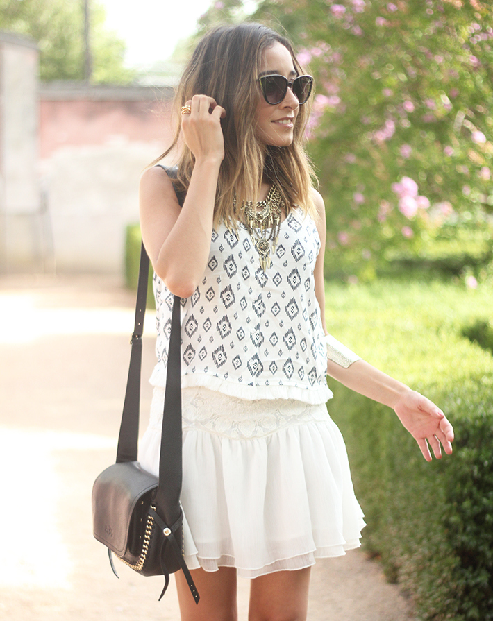 Black & White Summer Outfit Mango08
