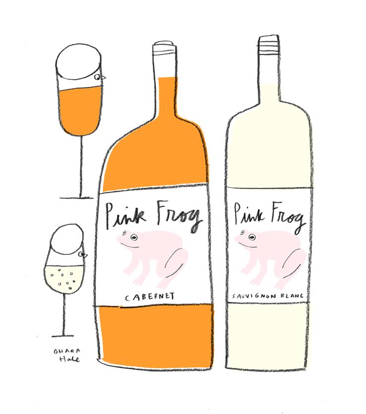 Pink Frog Wine