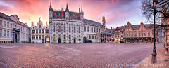 Bruges at sundown