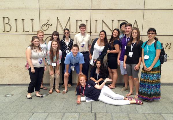 #NSLCHEAL visits the Bill and Melinda Gates Foundation