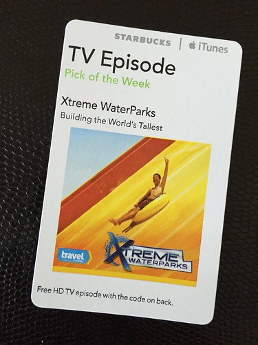 Starbucks iTunes Pick of the Week - Xtreme WaterParks - Building the World's Tallest