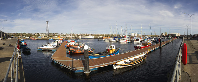 Wick Inner Harbour Panorama