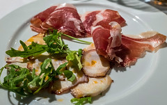 Sliced Octopus & Jamon (Fujifilm X70 APS-C Compact with 28mm f2.8 Prime Lens) (1 of 1)