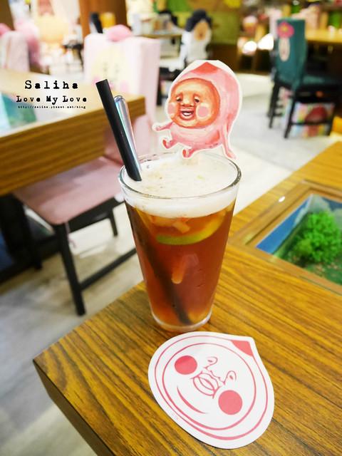 台北東區主題餐廳醜比頭的秘密花園輕食咖啡屁桃 (28)