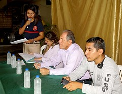 Líderes barriales designan representantes al Cuerpo de Bomberos