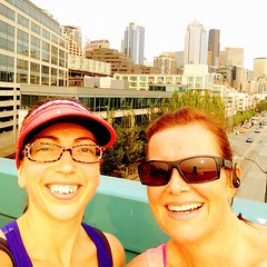 Another gorgeous #seattle run with @nzchrissy after a full day of @edurolearning strategic planning!