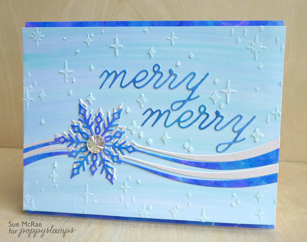 Layered Snowflake Ribbon