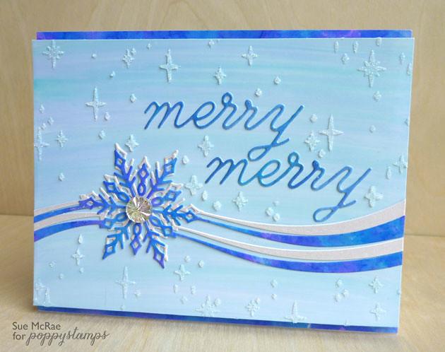 Layered Snowflake Ribbon