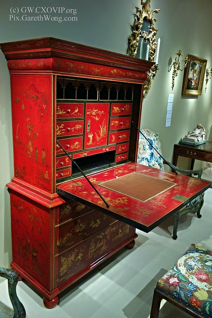 Red Secretaire-on-Chest Circa 1690 from Frank Patridge from RAW _DSC6367