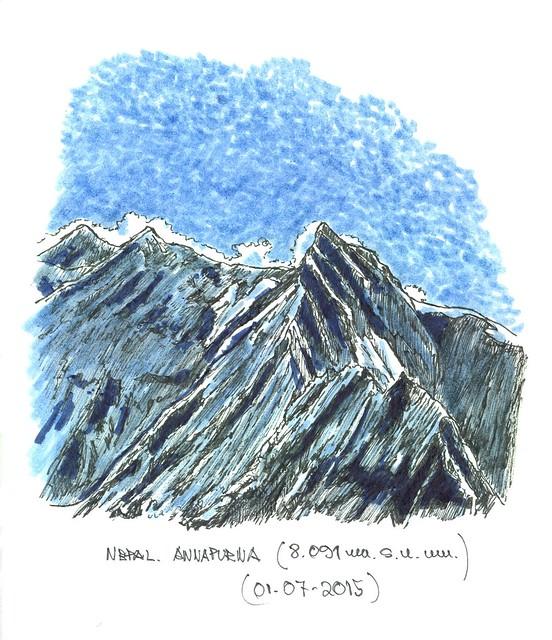 Annapurna (8.091 m.s.n.m.) Nepal