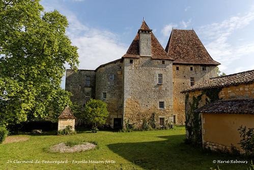 24 Clermont-de24 Clermont-de-Beauregard - Fayolle Maison forte -Beauregard - Fayolle Maison forte XV XVI