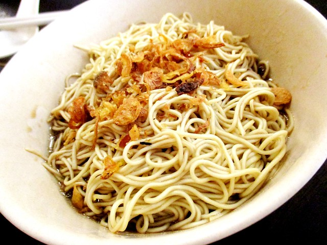 Noodle Descendents kolo mee, kosong