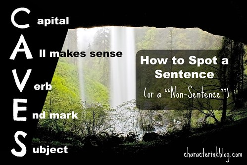 CAVES - How to Spot a Sentence