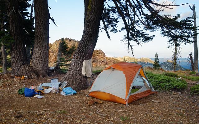 Campsite, July 12