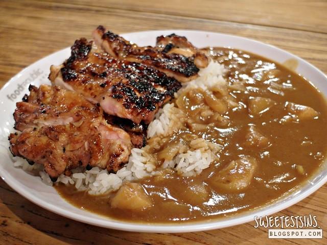 sumibi chicken original curry rice