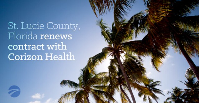 St. Lucie County renews healthcare contract with Corizon Health