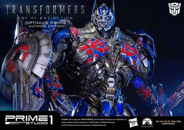 Prime 1 Studio 變形金剛4:絕跡重生【柯博文終極版】Optimus Prime 全身雕像
