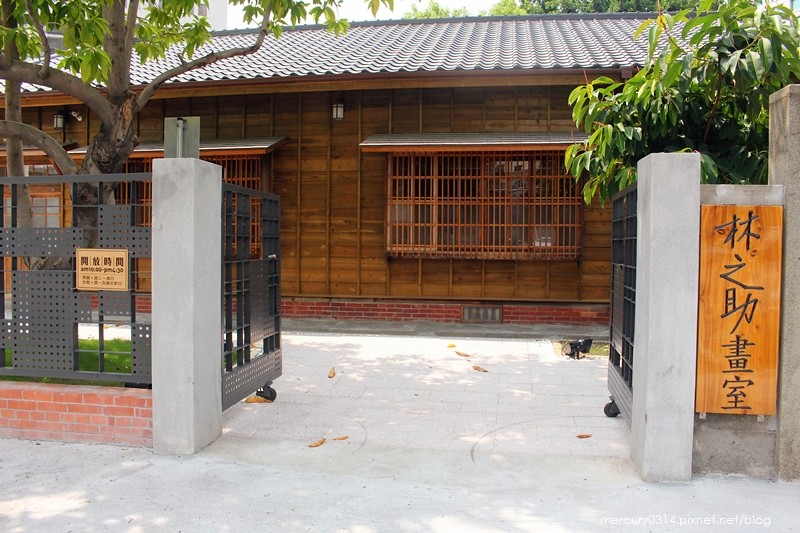 19758793282 f91372031a b - 遊記。台中西區【林之助紀念館】台灣膠彩畫之父林之助畫室,歷史日式建築修復再利用