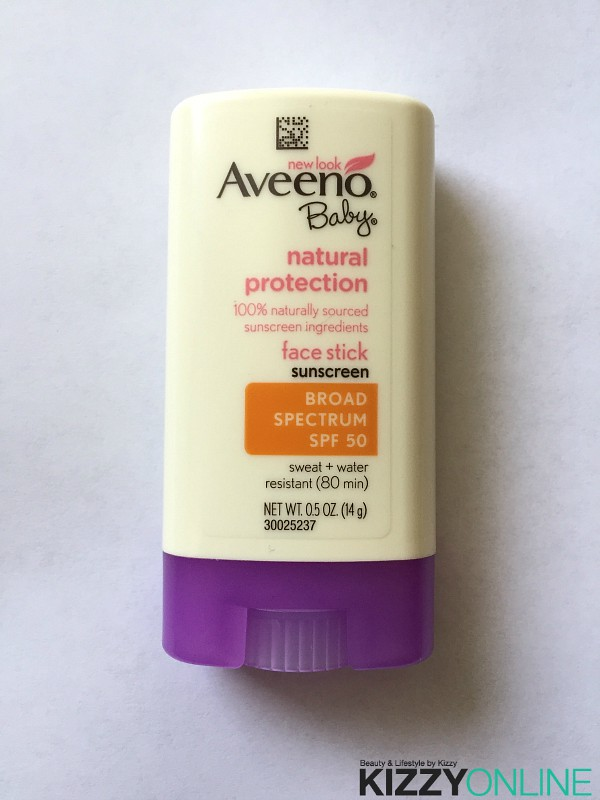 Mommy Review Aveeno Baby Natural Protection Face Stick