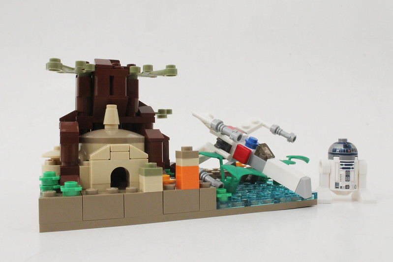 Review - LEGO Star Wars SDCC 2015 Dagobah Mini-Build από Brick Fan 19957491425_7dfb46a4a1_c