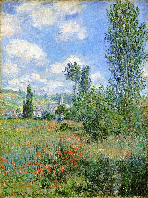 Lane in the Poppy Fields by Claude Monet, 1880