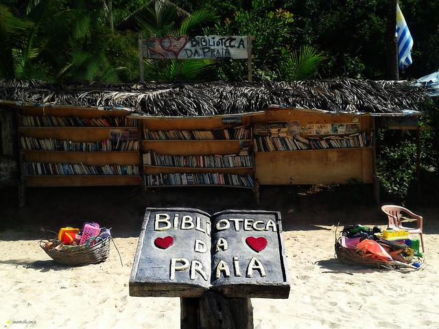 Biblioteca da Praia (do Amor) | Pipa - RN