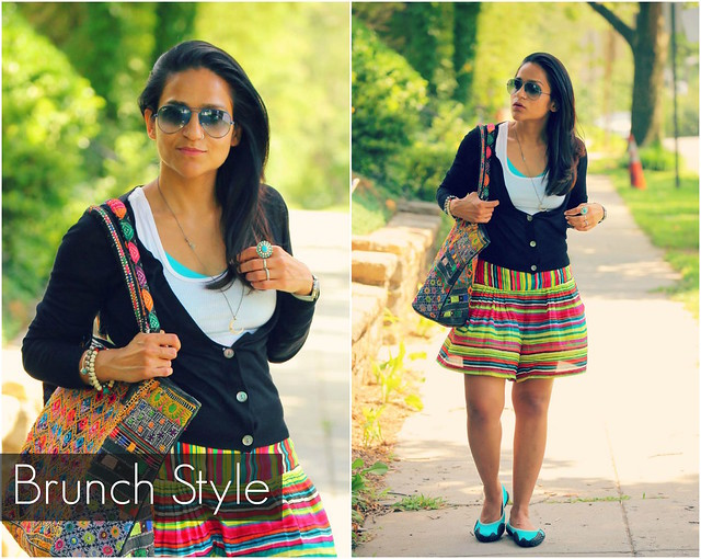 Brunch Style Hanes, Lookbook, Off Duty Bohemian Style, Tanvii.com