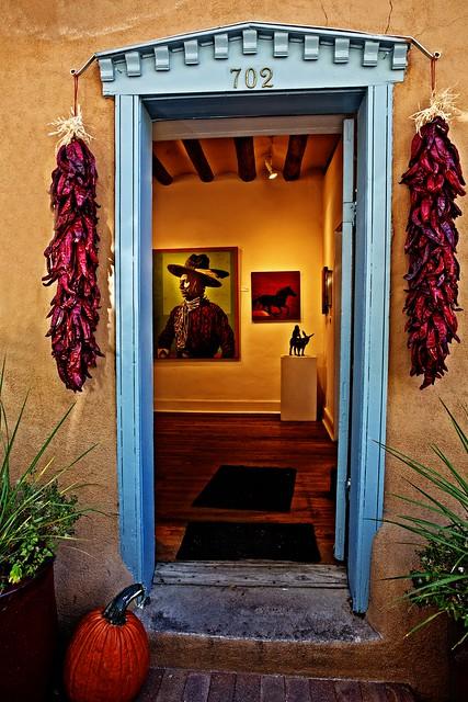 Canyon Road Door