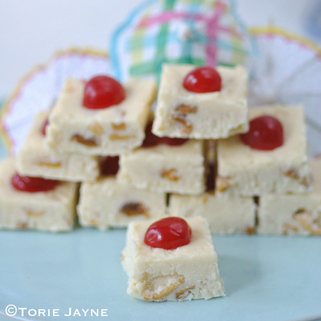 Pina Colada fudge recipe
