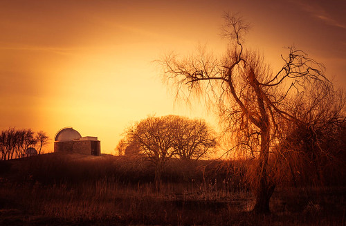 fineart building art fineartphotography oldbuilding denmark highdynamicrange three orange clouds trees hdr lonelytree warmlight lonetree tree ambience jacobsurland colors numbers architecture observatory caughtinpixels light country landscape tølløse regionzealand dk