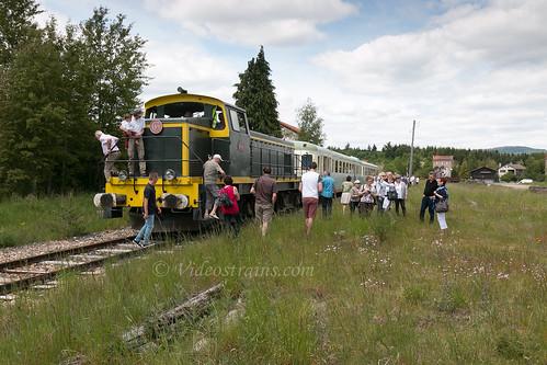 Train spécial Fête des mères Craponne sur Arzon-Usson en Forez