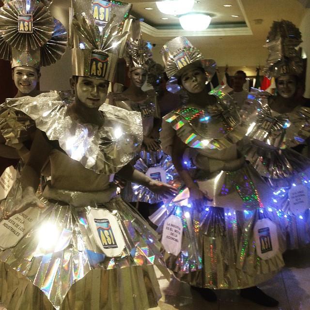 MARUJATZ version of IRONMAN  @PREMIOS ASI #marujatz #milliner #millinery #carnival #carnivalparty #ironman #handmade #personaje #character