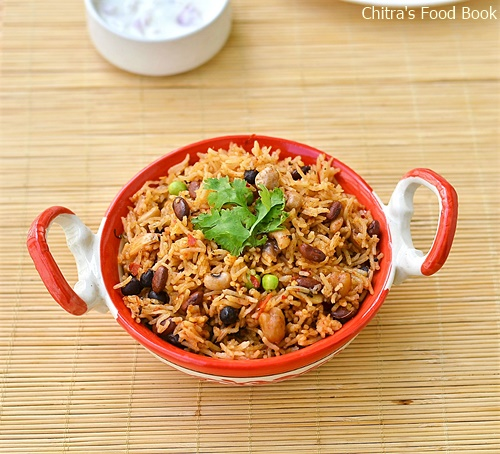 Multi grain biryani recipe