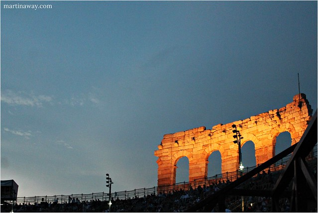 Aida at the Arena di Verona.