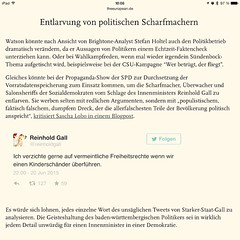 Über die Rückkehr von #zensursula #VDS #Vetomaschine http://www.theeuropean.de/gunnar-sohn/10304-digitale-entlarvung-schwacher-politik
