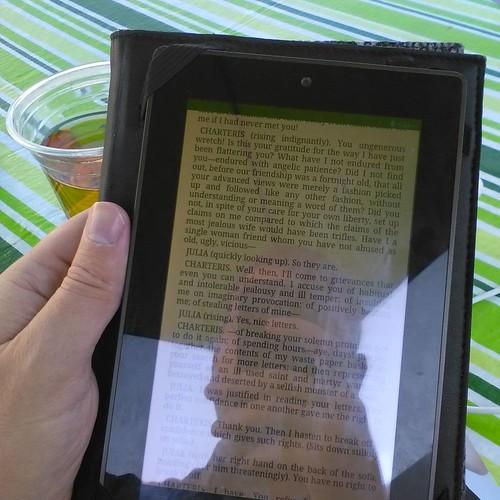 Rereading source material #toronto #fringeto #thealley #thephilanderer #georgebernardshaw #thephilandress
