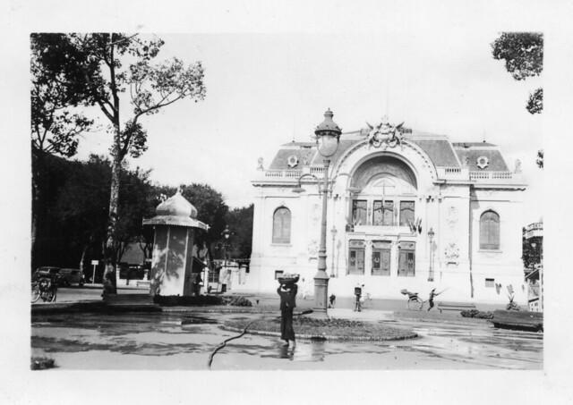 Saigon 1938-39 - Le Théâtre Municipal