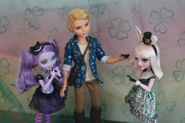 Ever After High Wonderland Trio