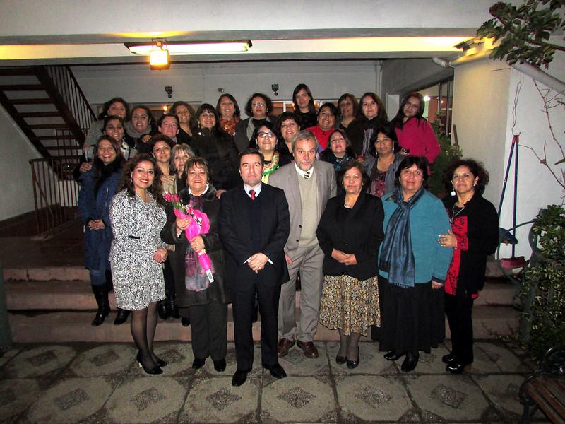 Tesorero General se reunió con las Dirigentas Gremiales de la AET de todo el país - 7 Julio 2015