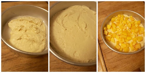 Peach Buttermilk Cake