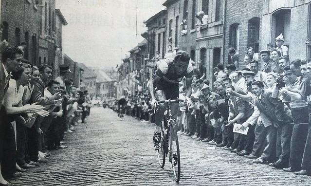 Jacques Anquetil 1957 Tour de France 5th stage