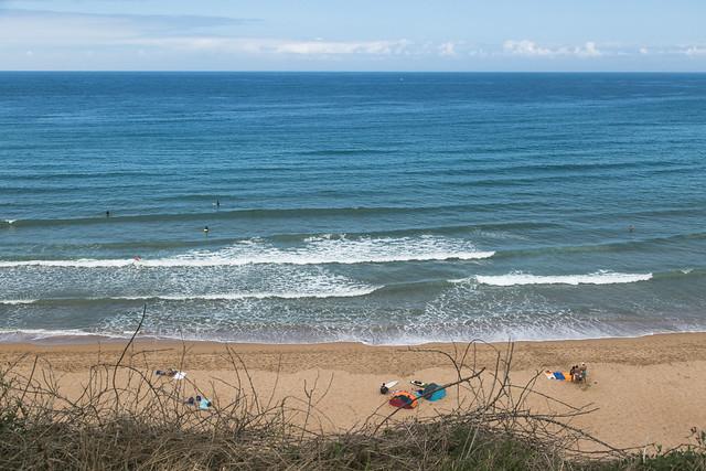 Playa de Langre, costa de Trasmiera