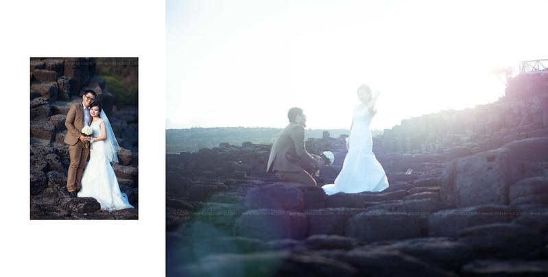Ảnh cưới đẹp Ghềnh Đá Dĩa Phú Yên - Hiếu + Vân