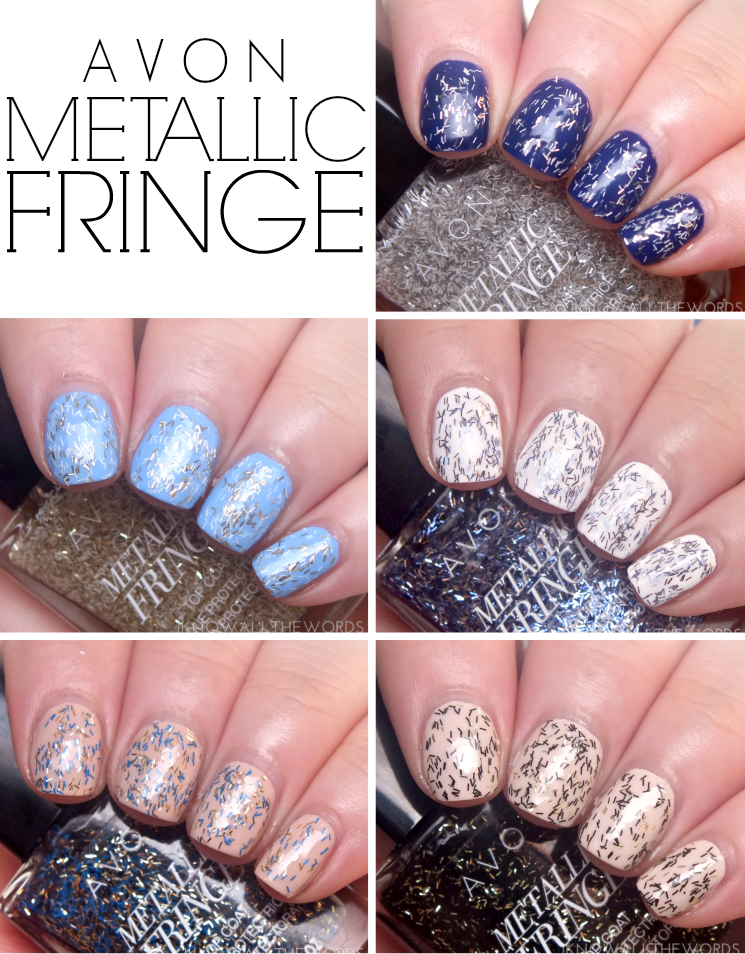 avon metallic fringe top coat (3)
