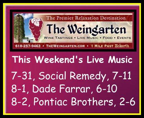 The Weingarten 7-31 thru 8-2-15