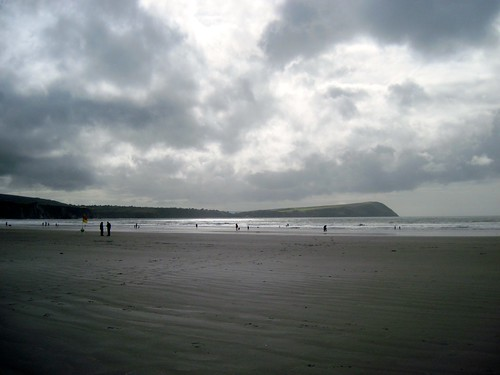 Pembrokeshire Coast Path: Newport Sands