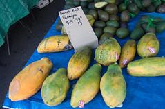 Sweet Red Papaya at the Cleveland Markets, Brisban…