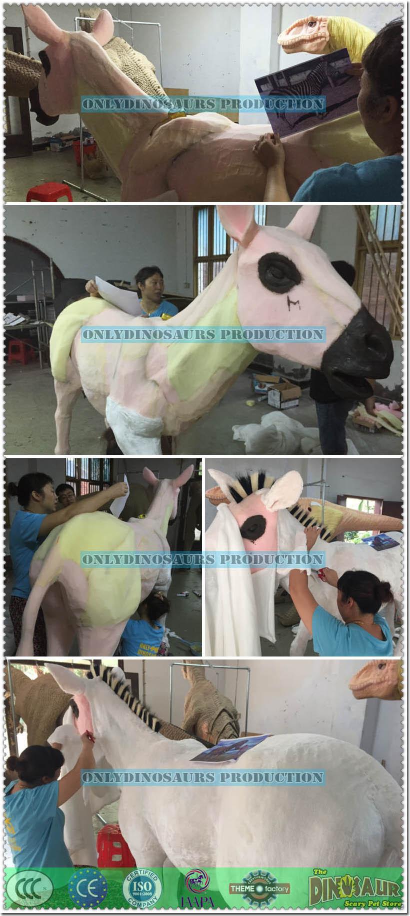 Fur-Grafting for Animatronic Zebra