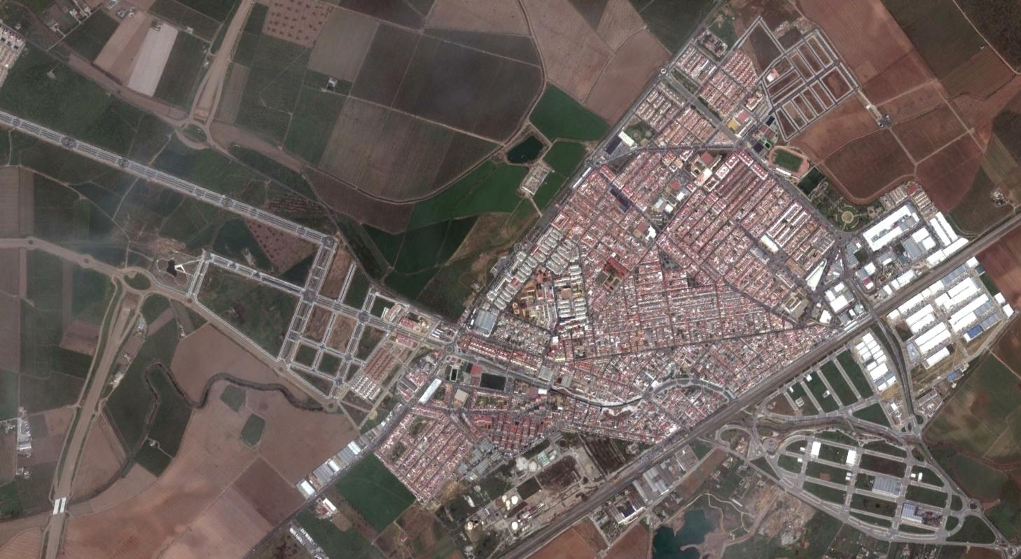 san josé de la rinconada, sevilla, saint joseph of the corner, urbanismo, planeamiento, urbano, desastre, urbanístico, construcción, rotondas, carretera